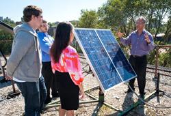 solar panel at MC