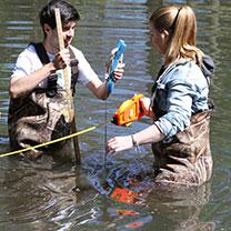 Van Cortlandt Park water monitoring
