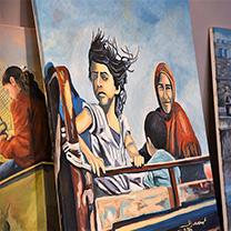 Bethlehem Beyond the Wall exhibit