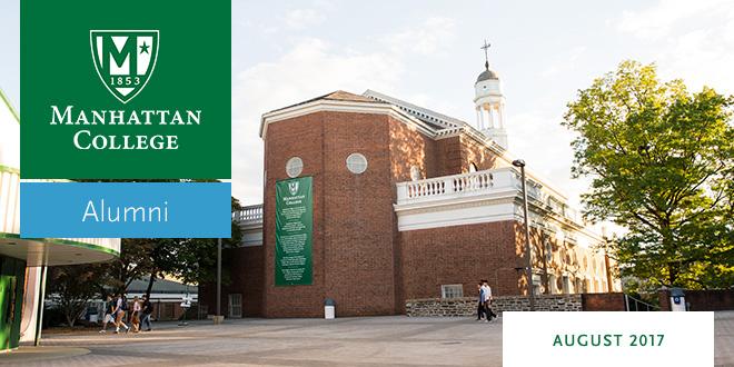 Manhattan College Alumni Connection Masthead